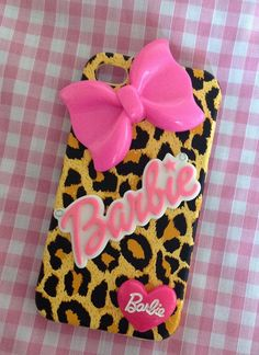 Barbie iphone case I love it Girly Phone Cases, Ipod Cases, Iphone Case Covers, Life Size Barbie, Barbie World, Portable Apple, Everything Pink, Iphone 4s, Buy Iphone