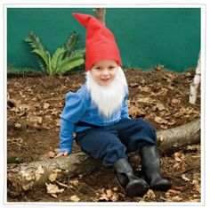 Little Bearded Gnome costume instructions. From spoonful.com