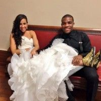 Olympic wrestler gold metal,Jordan Burroughs, gets married, bride wears his signature wrestling shoes down the aisle. gold medal wrestler Jordan Burroughs got married over the weekend to girlfriend Lauren Mariacher