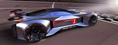 Audi Koncept Paon 2030 by recent Pforzheim MA graduate Lucia Lee