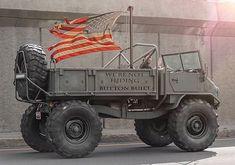 i hope custom truck to be like this Dodge Trucks, Cool Trucks, Pickup Trucks, Willys Mb, Van 4x4, Monster Trucks, Mercedes Benz Unimog, Mercedez Benz, Daimler Benz