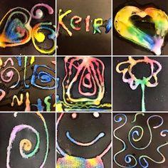 Salt Art, Art Activities, Kids Rugs, King, Instagram, Kid Friendly Rugs, Nursery Rugs