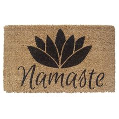 Namaste door mat // for a yogi...