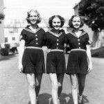 Nan Grey, Deanna Durbin & Barbara Read in Three Smart Girls, 1936