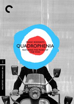 Quadrophenia, directed by Franc Roddam / speculative Criterion cover by Heath Killen