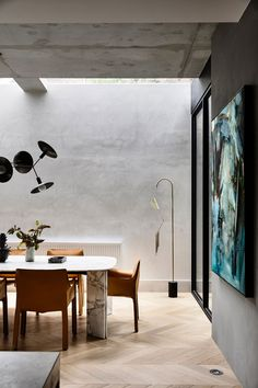 Vintage Interior Design Huntingtower House Armadale by Workroom Contemporary Interior Design, Interior Design Kitchen, Interior Decorating, Modern Design, Rooms Ideas, Luxury Dining Room, Dining Rooms, Dining Furniture, Modern Dining Table