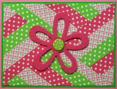 Pink Washi Tape Card - Scrapbook.com