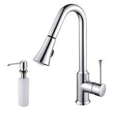 Kraus Single Lever Pull Out Kitchen Faucet KPF-1650 $250.00