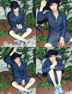 Sungjae 성재 | BTOB 비투비 | CeCi Magazine July 2015