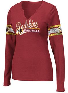 Ladies Redskins Gameday Gal T-Shirt Redskins Apparel f3a3efacb