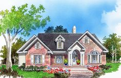 Home Plan The Sutcliffe by Donald A. Gardner Architects