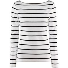 See this and similar H&M tops - Check this out! Fitted jersey top with boat neckline. Decorative buttons on one shoulder and at cuffs. - Visit hm.com to see more.