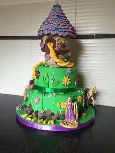 Disneys Tangled Tower Cake