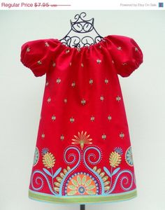 SEW GROOVY Peasant Dress Pattern   New Easy by FootLooseFancyFree, $6.36