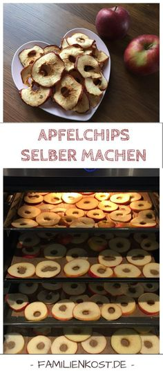 Recipe to make apple chips in the oven itself. Healthy snacking can be so easy … - Snack Mix Recipes Healthy Candy, Healthy Snacks, Healthy Kids, Healthy Drinks, Easy Baked Apples, Cinnamon Apple Chips, Honey Recipes, Healthy Baking, Smoothie Recipes