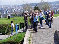 Los turistas quedan maravillados con el paisaje