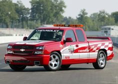 2003 Chevrolet Silverado SS Pace Truck Chevy Silverado Ss, Chevy Trucks, Monster Trucks, Cars, Vehicles, Safety, Medical, Security Guard, Autos