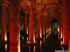 Bucket List Item: See hidden treasures - never meant to be seen! The Basilica Cistern of Istanbul, Turkey - http://www.huffingtonpost.com/the-gypsynesters/istanbul-travel_b_3990946.html