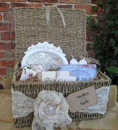 Mother of the Bride Hamper Contents Option 2 White Ornate Photo Frame Cavania Birdcage China Mug Earl Grey Fine English Tea Happy…