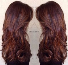 The perfect color. Chocolate with butterscotch light hair. Photo credit and work done by @larisadoll on Instagram she's amazing.