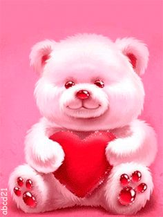 Discover & share this Animated GIF with everyone you know. GIPHY is how you search, share, discover, and create GIFs. Teddy Bear Cartoon, Cute Teddy Bears, Animated Heart, Animated Gif, Animated Screensavers, Coeur Gif, Teddy Day, Teddy Bear Pictures, Cute Love Gif