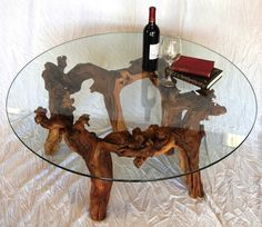 Old Vine Grapevine Coffee Table Made From Reclaimed Napa Grapevines - Grapevine coffee table