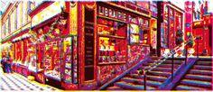 Passate Louvre - Roberto Sieni - from 192€ - Passage Louvre è un'opera realizzata da Roberto Sieni, artista che lavora da anni come grafico; la sua attività spazia dalle realizzazioni editoriali alle pubblicitarie alle opere d'arte.