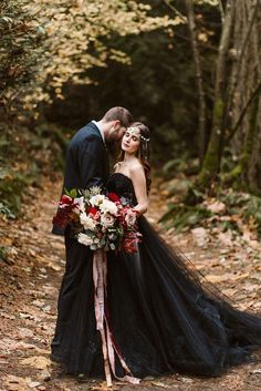 Hot or Not: Halloween Wedding Ideas For Daring Couples ❤ See more: http://www.weddingforward.com/halloween-wedding-ideas/ #weddings