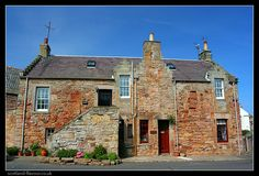 Village of Crail in East Neuk of Fife, Scotland's east coast Fife Scotland, Fair Isles, Architectural Features, North Sea, Old London, Fishing Villages, Going Home, Great Pictures, Nice View