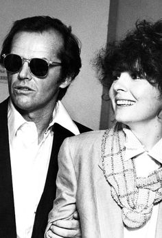 Jack Nicholson & Diane Keaton, by Ron Galella, 1978.