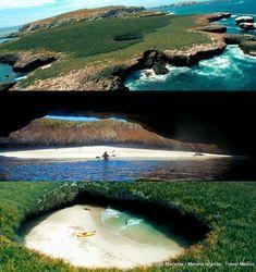 Beautiful Hidden Beach - Islas Marietas - Marieta Islands, Mexico