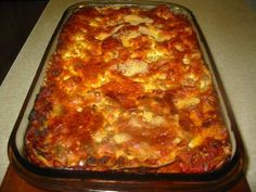 And awesome lasagna.  I've made this many many times with a slight mod to the recipe (1lb of beef).