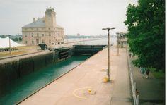 The Soo Locks  ~Sault Ste. Marie, Michigan