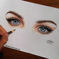 Repost from @adamelmahjoub  done  #رايكم #eyes via http://instagram.com/ladyterezie