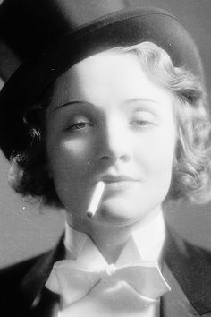 Marlene Dietrich in 'Morocco', photographed by Eugene Robert Richee, 1930.