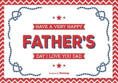 Free vector Father's Day Illustration #11866