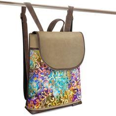 Jarry One Batik-D brown and beige D Brown, Saddle Bags, Beige, Fashion, Moda, Fashion Styles, Fashion Illustrations, Ash Beige