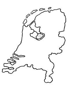 Kleurplaat: Holland