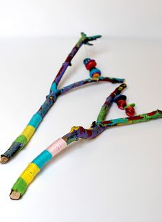 Painted Stick Instrument Tutorial