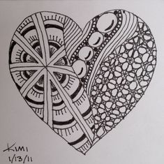 Idea Zentangle Alphabet Letters | Zentangle your name