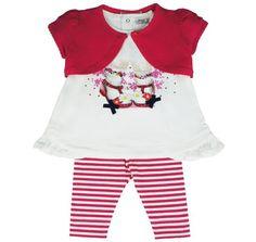 Honey & Clover Kidswear / Children's Apparel | 3-Piece Amapola Set by Mayoral