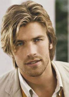 Image result for medium long cuts for men with fine hair