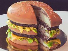 Idée gateau d anniversaire original pour homme délicieux burger