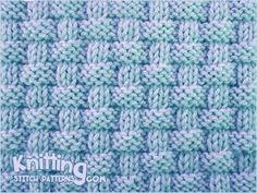 Pie crust basketweave stitch - Simple Knit + Purl