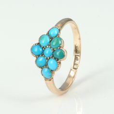 Turquoise Stones Ring