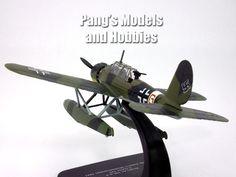 Arado Ar-196 German Kriegsmarine Seaplane 1/72 Scale Diecast Metal Mod – Pang's Models and Hobbies