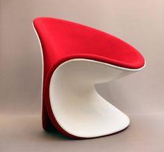 futuristic furniture, modern chair, futuristic chair