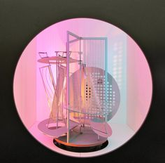 Light Prop for an Electric Stage. Moholy-Nagy: Future Present at the Guggenheim NY.