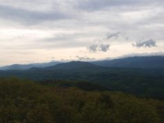 View From Look Rock, Great Smoky Mountains National Park 5/2/13