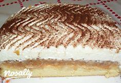 Almás-tejszínes piskóta | Nosalty Tiramisu, Ale, Ethnic Recipes, Food, Eten, Ales, Tiramisu Cake, Meals, Diet